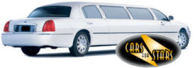 Limo Hire Baxley - Cars for Stars (Stockport) offering white, silver, black and vanilla white limos for hire