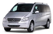 Chauffeur driven Mercedes Viano people carrier - Up to 7 passengers in comfort, from Cars for Stars (Stockport) - Airport Transfer Services